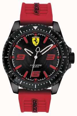 Scuderia Ferrari Xx kers zwarte wijzerplaat rode rubberen band 0830498