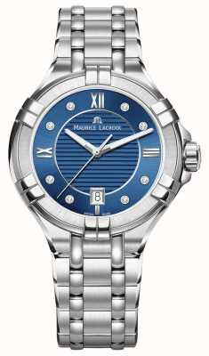 Maurice Lacroix Dames aikon 35mm roestvrij staal blauwe wijzerplaat AI1006-SS002-450-1