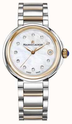 Maurice Lacroix Dames fiaba parelmoer wijzerplaat tweekleurige armband FA1007-PVP13-170-1