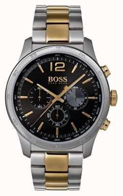 Hugo Boss Professionele professionele chronograafhorloge tweekleurige armband 1513529
