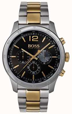Boss Professionele professionele chronograafhorloge tweekleurige armband 1513529