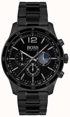 Hugo Boss Heren professioneel chronograaf horloge ijzeren armband 1513528