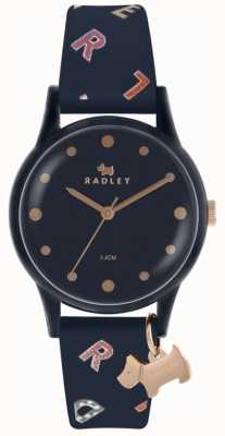 Radley Dameshorloges navy siliconen RY2600