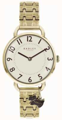 Radley Womens southwark park horloge goudkleurige armband RY4298