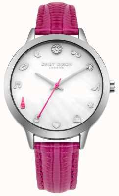 Daisy Dixon Lexi roze lederen band voor vrouwen DD078PS