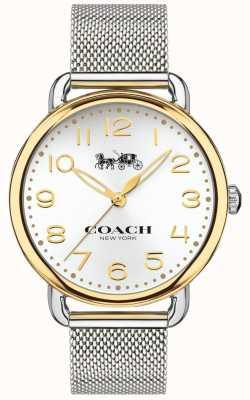 Coach Trui met goudkleurige schakelketting in roestvrij staal van vrouwen 14502802
