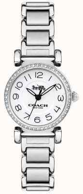 Coach Dameshorloge wijzerplaat van madison horloge staal 14502851
