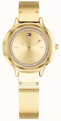 Tommy Hilfiger Womens olivia gold tone horloge 1781910