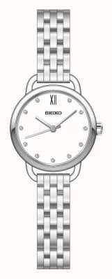 Seiko Recraft zilverkleurige armband voor dames SUR697P1