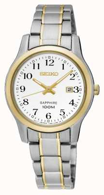 Seiko Dames two tone dress horloge SXDG90P1