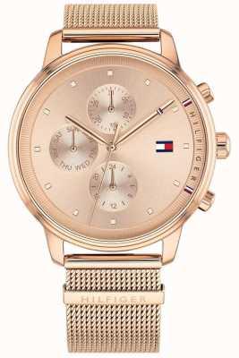 Tommy Hilfiger Dames dames blake chronograaf dag en datum diaplay 1781907