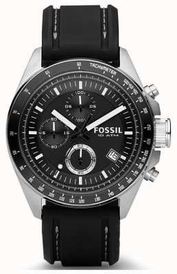 Fossil Heren decker siliconen band CH2573IE