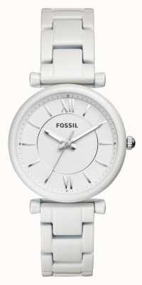Fossil Riemenbody van roestvrij staal ES4401