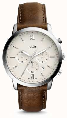 Fossil Mens neutra chrono lederen band FS5380