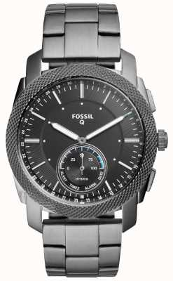 Fossil Unisex q-riem in roestvrij staal FTW1166