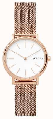 Skagen Signatur horlogeband van roestvrij staal SKW2694