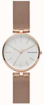 Skagen Signatur horlogeband van roestvrij staal SKW2709