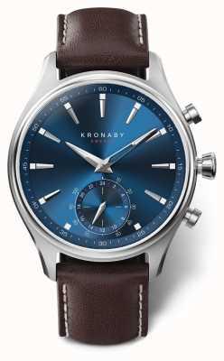 Kronaby 41 mm sekel bluetooth hybride horloge a1000-3120 S3120/1