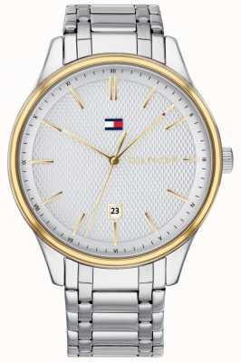 Tommy Hilfiger Heren damon roestvrij stalen horloge 1791491