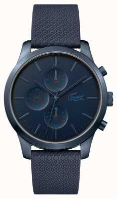 Lacoste Mens 12.12 85e verjaardag donkerblauw horloge 2010948