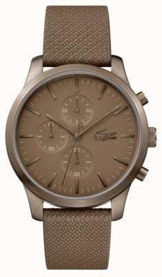 Lacoste Heren 12.12 85ste verjaardag kaki horloge 2010949