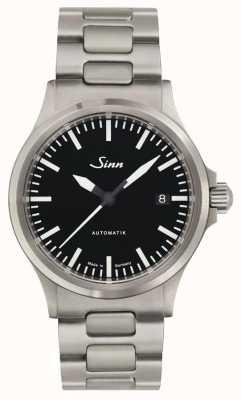 Sinn 556 i sportieve armband in edelmetaal geslepen glas 556.010 BRACELET