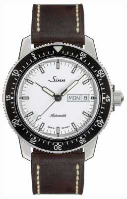 Sinn 104 st sa iw classic pilot horloge bruin vintage leer 104.012- BL50202002007125301A