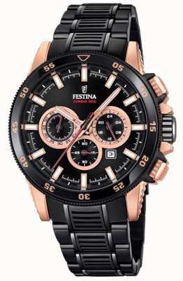 Festina Special edition 2018 chronofiets pvd verguld horloge F20354/1