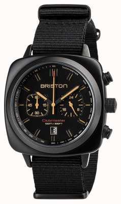 Briston Clubmaster sport zwart mat 18142.PBAM.BS.4.NB