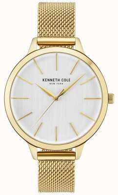 Kenneth Cole Gouden dameshorloge met wijzerplaat en goudkleurige wijzerplaat KC15056011