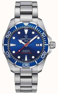 Certina Heren ds action diver powermatic 80 automatic C0324071104100