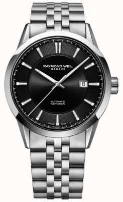 Raymond Weil Heren freelancer automatische roestvrijstalen armband 2731-ST-20001