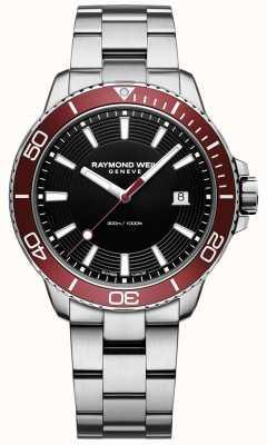 Raymond Weil Heren tango 300 duiker roestvrijstalen armband 8260-ST4-20001