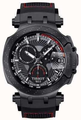 Tissot T-race motogp speciale editie zwarte rubberen band T1154173706104