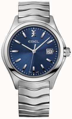 EBEL Herenhorloge met wijzerplaat met datumring in roestvrij staal 1216238