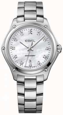 EBEL Dames diamant ontdekking parelmoer roestvrij staal 1216394
