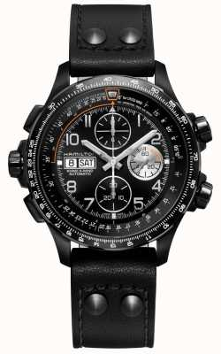 Hamilton | kaki avaiation | x-wind | automatische chronometer | H77736733