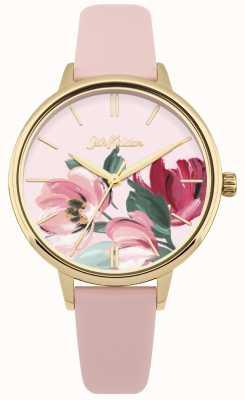 Cath Kidston Horloge met roze wijzerplaat van vrouwen CKL050PG