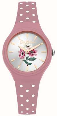 Cath Kidston Womens anemone boeket roze siliconen band horloge CKL066P