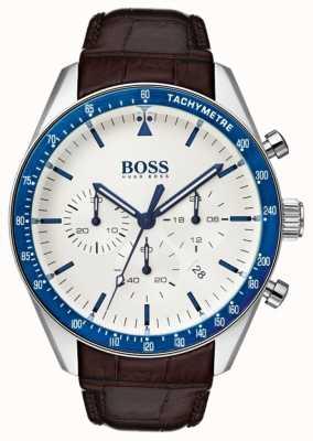 Hugo Boss Heren trofee witte wijzerplaat 1513629