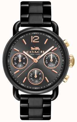 Coach Dames delancy sport horloge 14502840