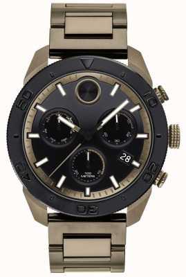 Movado Stoere ip-vergulde armband sport chronograaf heren 3600513