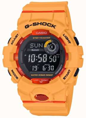 Casio G-squad oranje digitale bluetooth step-tracker GBD-800-4ER