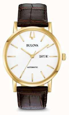 Bulova Amerikaanse automaat gold gold pvdwatch heren 97C107