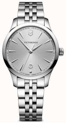 Victorinox Swiss Army Alliance 35mm zilverkleurige roestvrijstalen armband 241828