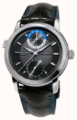 Frederique Constant Hybride fabricage 3.0 automatische smartwatch zwarte riem FC-750DG4H6