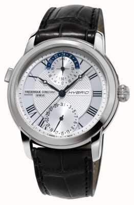 Frederique Constant Hybride fabricage 3.0 automatische smartwatch zwarte riem FC-750MC4H6