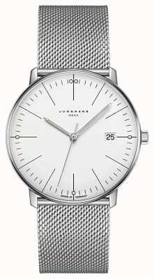 Junghans Max bill mega mf milanese roestvrijstalen armband 058/4821.44