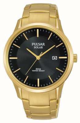 Pulsar Vergulde wijzerplaat voor heren, verguld PX3162X1