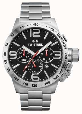 TW Steel Heren kantine 50 mm chronograaf roestvrij staal CB8